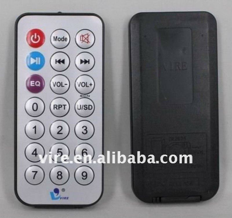 2012 hot sell mp3 remote control