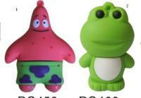 HOT SALR!! green cute frog USB flash drive pendrive 1-32GB Free shipping