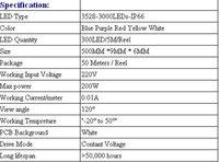Светодиодная лента + 1Set 200W 3528 RGB IP66 220V 50 60LED/M 3000 dd10/RGB + DD10-RGB