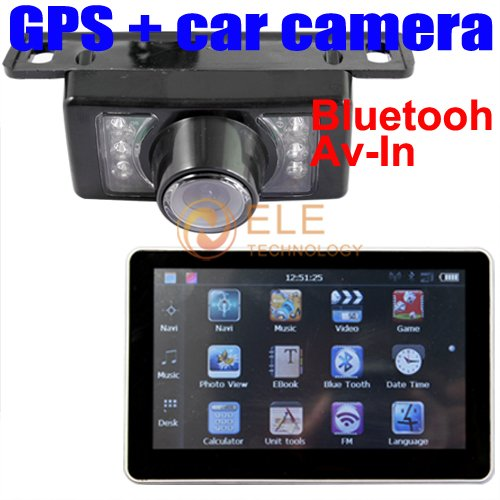 car reverse camera   7'' HD Car GPS navigator Bluetooth 1.jpg