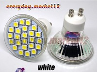 Освещение Cool White GU10 24 5050 SMD LED light 4.5-5W