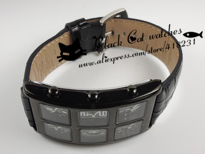2016 Новый Настоящее Hardlex Нержавеющей Стали 20 мм До 29 мм New! классический 6 Часового пояса Часы Кварца Людей Хип-Хоп Смотреть Мода Часы