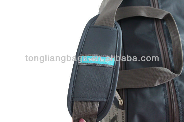 Best and pretty New design imported 420D nylon Business trolley travel bag with detachable strap