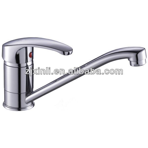 De haute qualité en laiton lavabo robinet, Polonais et fini chrome, X8503k7
