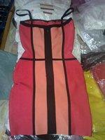 Вечернее платье In Stock High Quality s Sexy Ladies' Bodycon Bandage Dress H058 Evening Party Dress