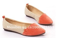 Shoes,Low-heeled shoes ,Spring and autumn shoes ,Pointed head ,beautiful and sweet ,Free shipping W031