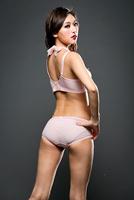 новейшие недоуздок шеи лифчик набор сексуальный толчок вверх набор set регулируемая бюстгальтер бюстгальтер Женское нижнее белье