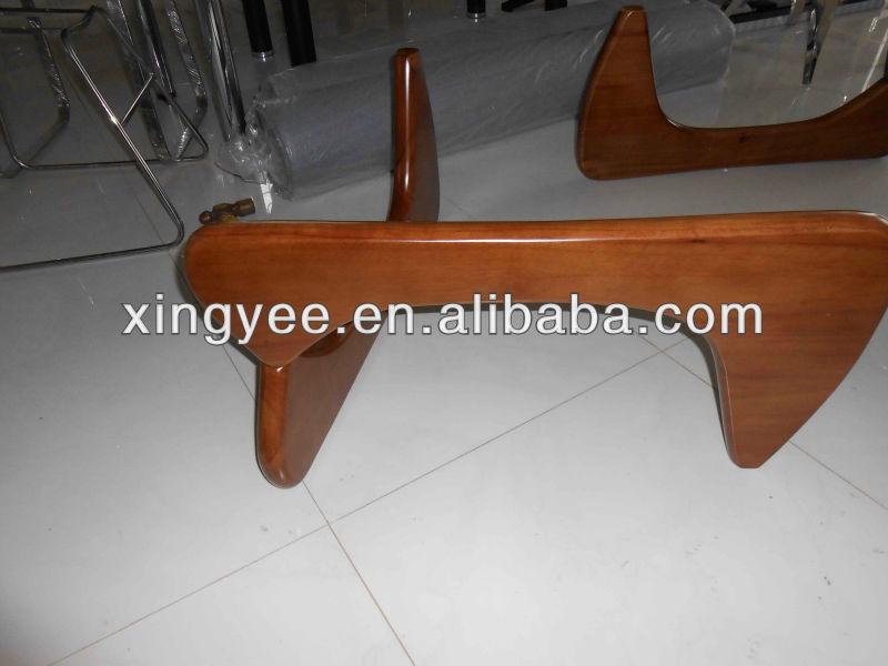 Japonais table basse en bois massif noguche table basse en verre ...