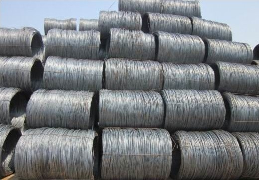 SAE1008 SAE1018 Q195 Q235 steel wire rod for drawing wire mesh