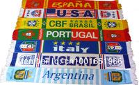 Спортивный сувенир Soccer Fans Souvenir, Velvet Supporters Football Scarf, Winter warm scarf as good gift, 148*15cm, 5pcs/lot