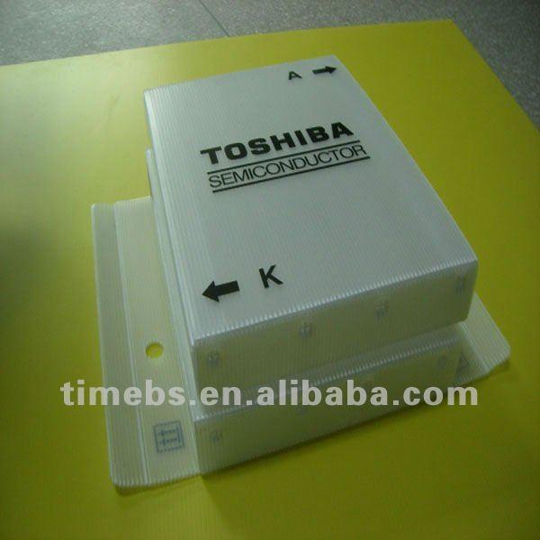 Transparent pp hollow plastic case