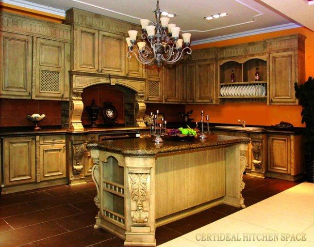 Arm rio de cozinha de luxo franc s balc o arm rio de for E home products