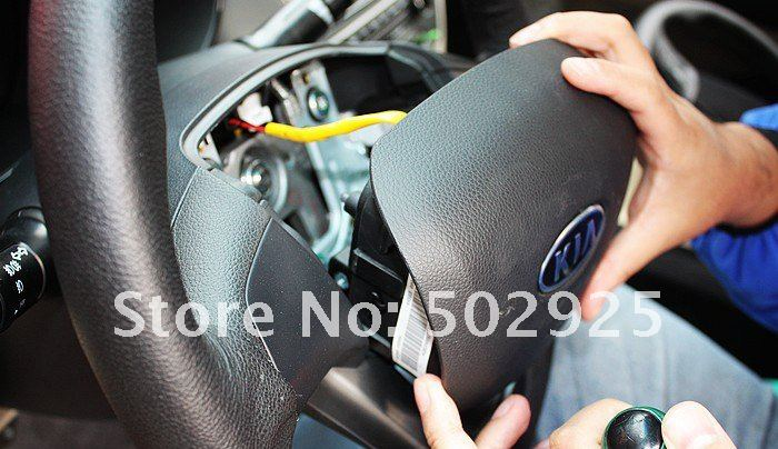 Free shipping Steering wheel audio control button fit for KIA 2012 new RIO / K2