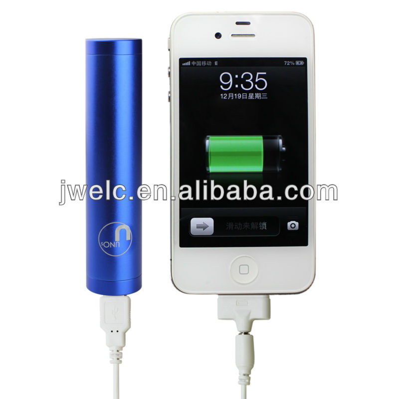 2200mAh power bank with flashlight for iphone5S for iphone5C
