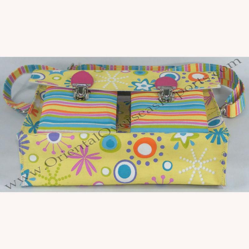 jute school bag