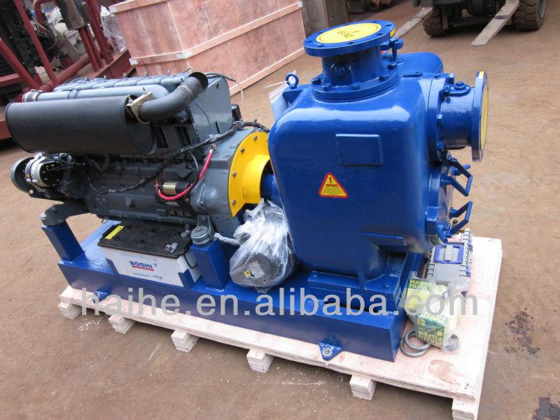 Skid Mounted Diesel Engine Driven Pump