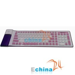 Brand New Flexible soft Foldable silicone bluetooth wireless keyboard.JPG