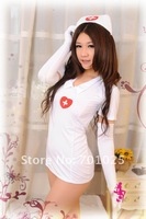 Женский эротический костюм Hot Sale High Quality sexy uniform women sexy lingerie adult costumes sexy nurse uniform temptation