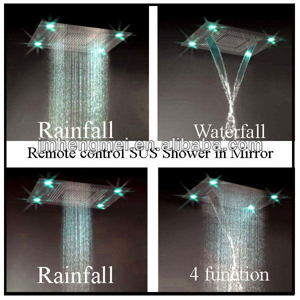 Dusche Bodengleich Selber Bauen : Led Dusche Decke : Regen dusche, 4 funktionstasten edelstahl f?hrte