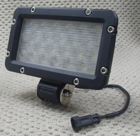 "Ксеноновые фары! New 7.5"" 24W auto truck LED work light/SUV/LED Boat light"