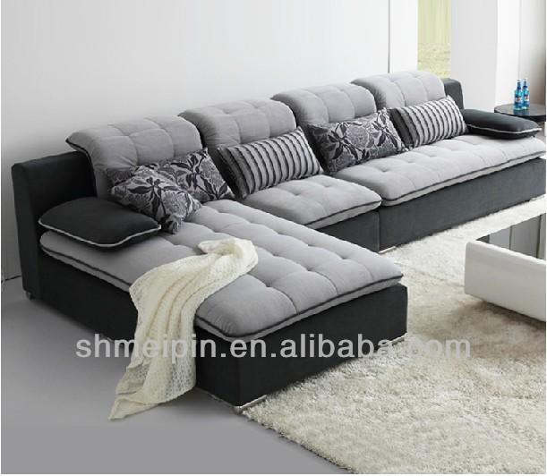 Moderne salon canap canap en cuir alibaba italien canap en tissu canap salon id de produit for Salon moderne chic italien