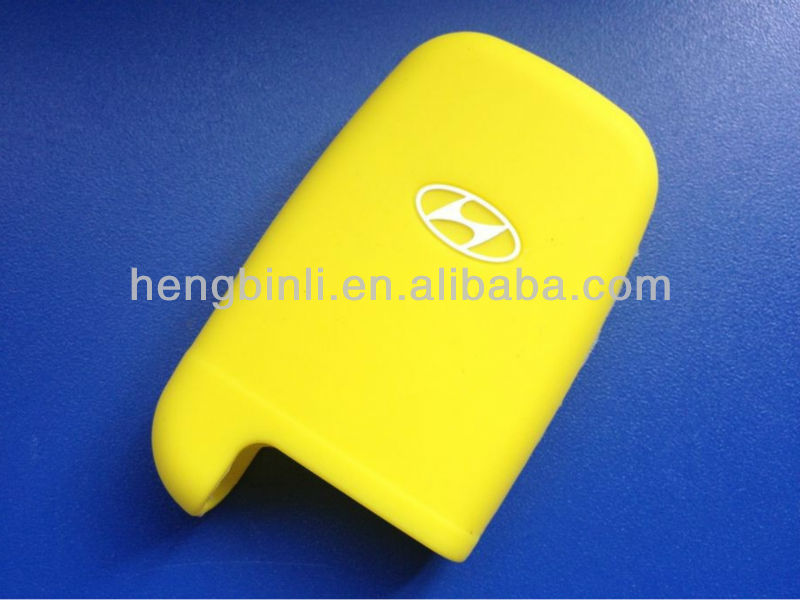 Factory price,eco-friendly material and hot selling item for Hyundai silicone car key case