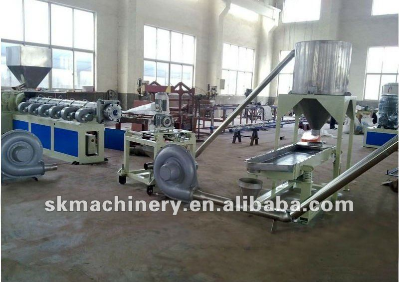 PP PE Plastic Film Recycle and Granulating Line