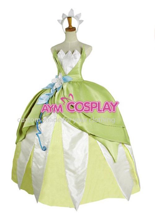 Princesa Tina la princesa y el sapo vestido cosplay en Disfraces y ...