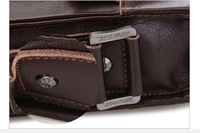 Маленькая сумочка 2012 Newest Popular Design Business&Leisure bag men, Cow Leather messenger Bag