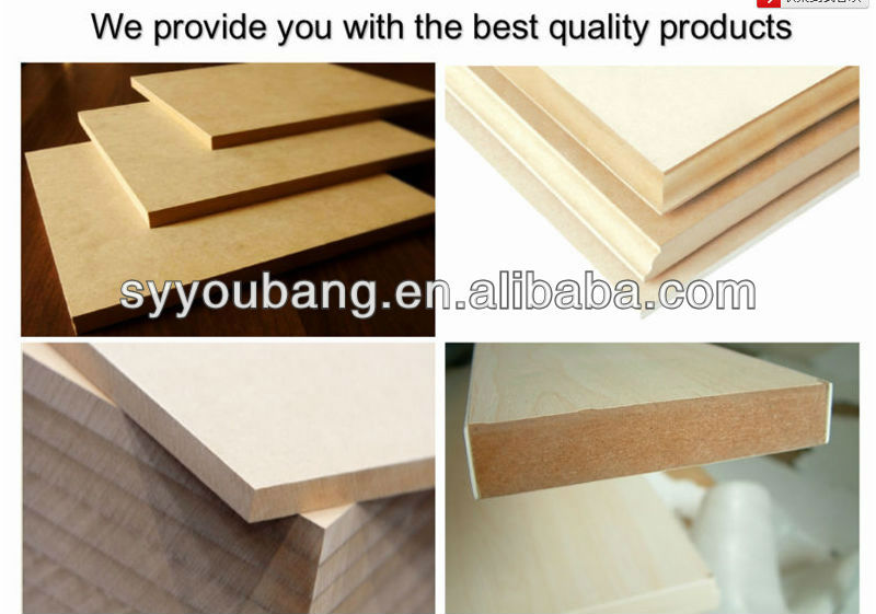 Uv paint mdf for kitchen cabinet