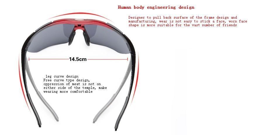 Велоспорт очковые открытый pc hd близорукость Ветер солнцезащитные очки