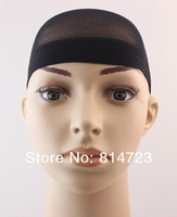 Сетка для волос 3 colors skin color, dark brown, black 2pcs/pack 12packs/lot Net/ Mesh /Hairnets/ wig cap wig wearing 24pcs