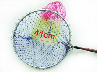 Free Shipping fishing net Brand New 2.1M Foldable Detachable Carbon Handle Fishing Landing Net fishing tackle YZ69138