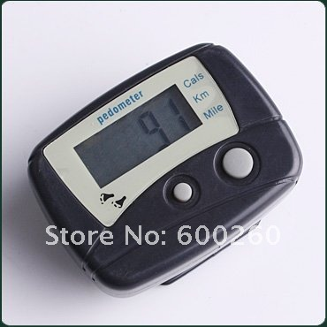 free shipping Run Step Pedometer Walking Calorie Counter#9823