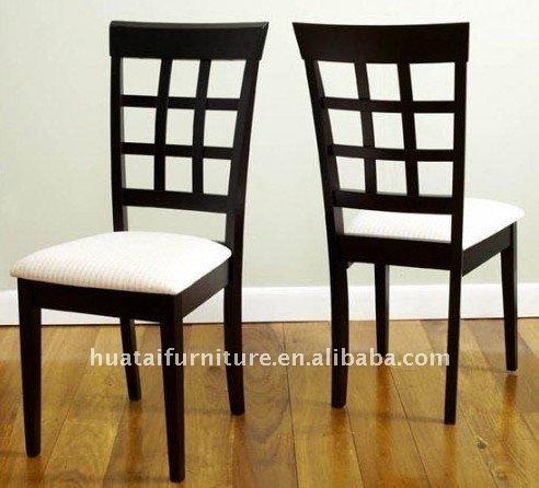 Tapizado de madera maciza silla de comedor sillas de for Sillas de comedor de madera
