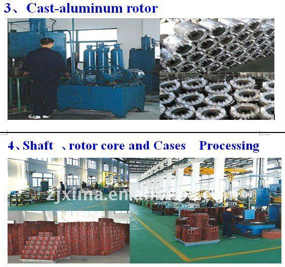 High effciency Aluminium fram Motor