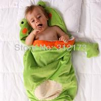 Пижамы и Халаты для мальчиков Infant Blanket Sleepers Toddler Sleeping Bags Baby Cute Animal Model Sleepsacks Children Winter Warm Clothing 1pcs