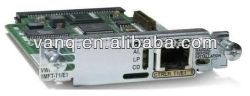 Cisco original vwic2 cartão vwic2-1mft-t1/e1 cisco voice interface placa de rede