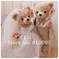 Детская плюшевая игрушка Teddy bear33cm size a pair of wedding bears/ 2 bears