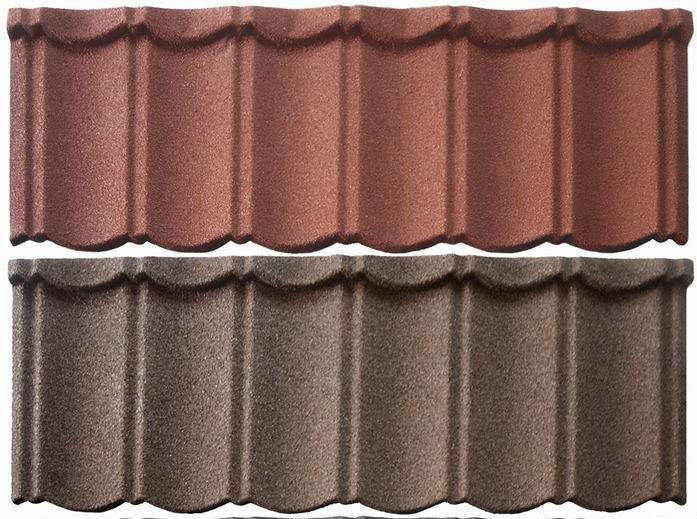 colourful asphalt roof tiles for house