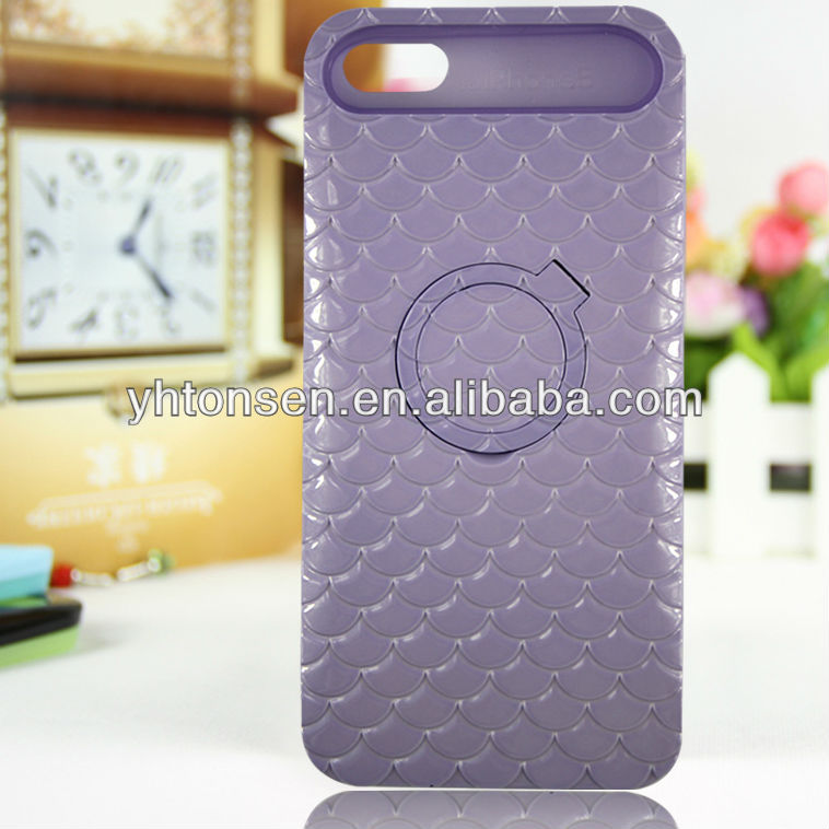 for iphone 5s cover case with ring holder to stand