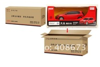 Golf Gti Red/White 44700 RC Model Car scale 1/24 with Box Package Free Shipping Airmail HK