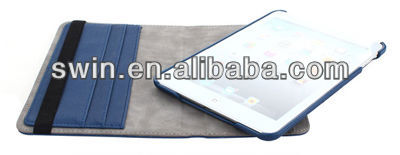 Wallet case for mini ipad with pen slot