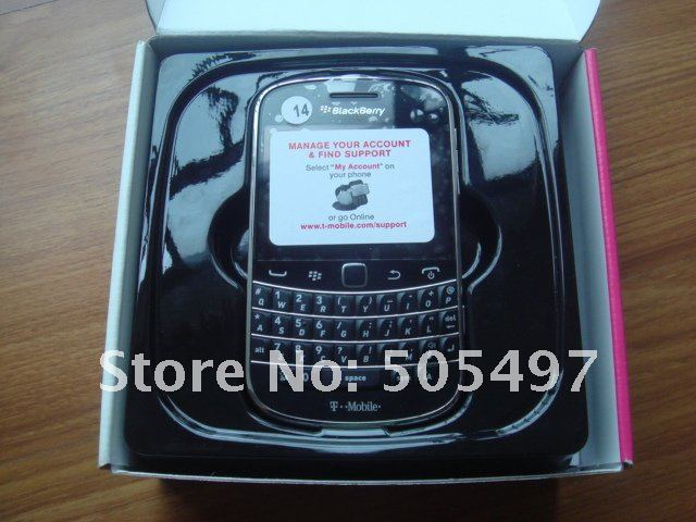 "original blackberry 9900 smartphone,3G phone, WIfi,GPS,5.0mPix camera, 2.8""touch+QWERTY,touch screen,Free shipping"