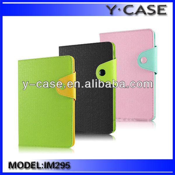 Folio leather case for iPad Mini Retina / Leather flip case for iPad Mini Retina / Stand leather case for iPad Mini Retina