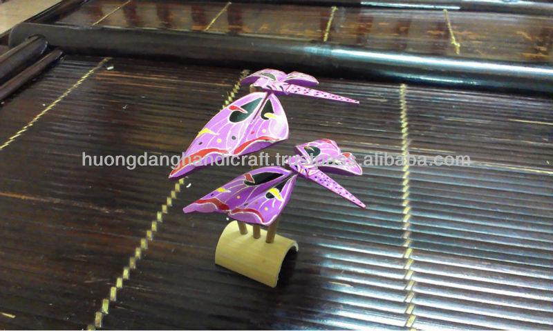 Handmade Bamboo finger balancing dragonfly