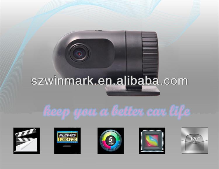 2014 DVR-100 voiture DVR avec 420 P 120 degrés Angle caméra, recoder de voiture avec résolution 1280 * 720