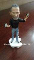 Apples Store CEO Steve Jobs Figure 18cm Resin Material Doll 1pcs/lot Artificial Sculpture Souvenir Specail gift +Free shipping
