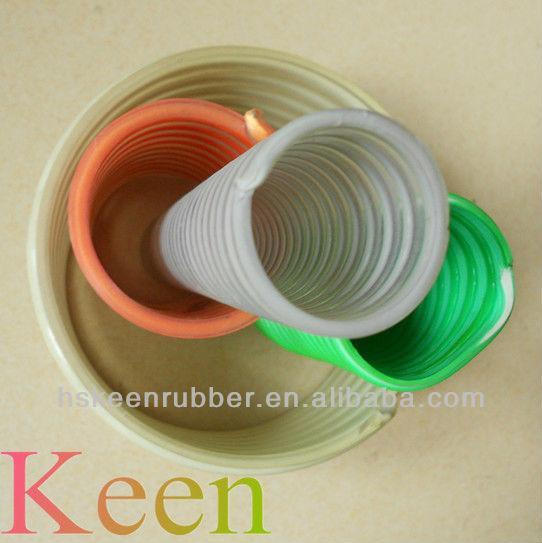 PU Antistatic Hose with PVC Helix hose/PU hose/ Polyurethane hose reinforced with rigid PVC spiral helix
