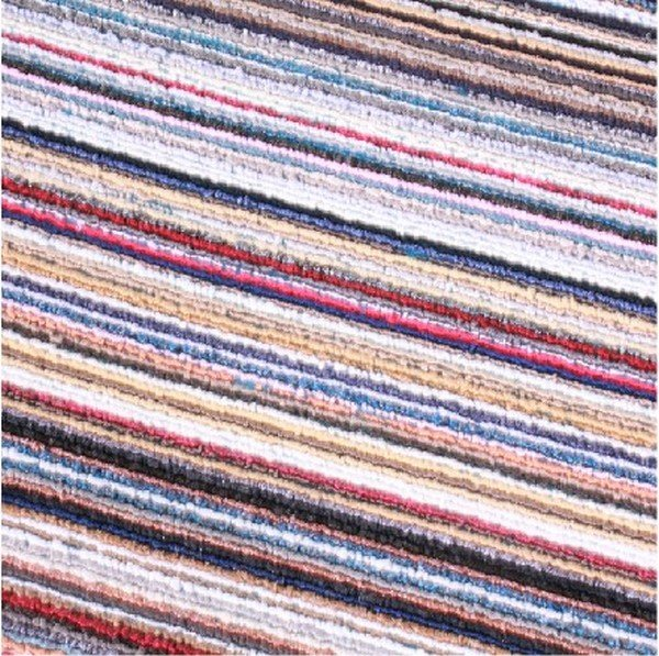 Colorful striped Square mat carpet anti-skidding door mat Bathroom mat Free shipping and Dropshipping